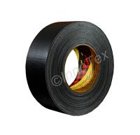 3M Vävtejp 389 Svart 50mm (Premium)