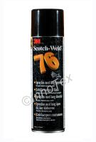 3M Scotch-Weld 76 Lång öppentid (Spraylim)