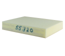 Polyeter 55kg/m3 320N (Extra fast - Brandklass C*)