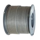 PVC belagd Wire 2mm - 5mm (Plastbelagd)