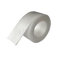 PP webbingband Vit (Polypropylen) 20mm-50mm