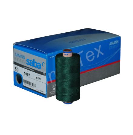 SABA 50 sytråd 500m (Färgkod 1097 - Grön)