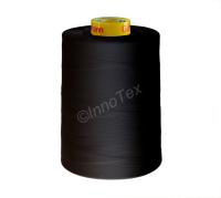 Industrisytråd 100% Polyester Svart (120)