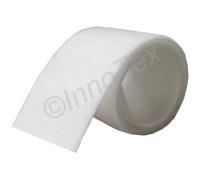 InnoTex Kardborreband Vit (Ögla / Loop)