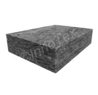 Dämpfiber XL Grå 1800-2000gr/m2 (Ljudabsorbent)